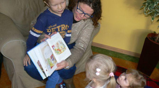 Biedronki i mikołajkowe czytanie