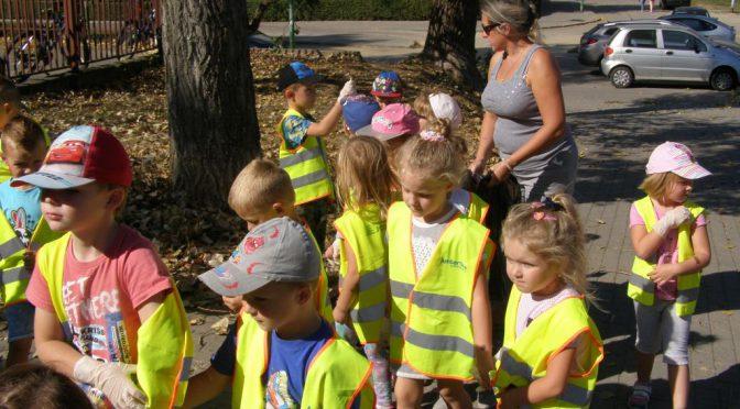 Przedszkolaki sprzątają świat