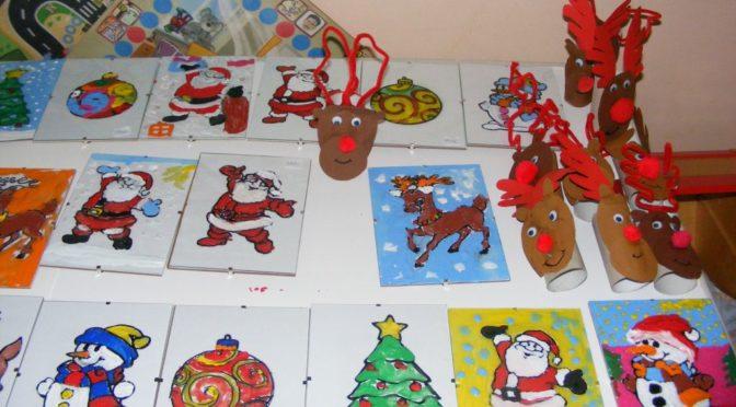 Tygryski i warsztaty świąteczne