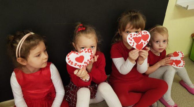 Misiowe Walentynki
