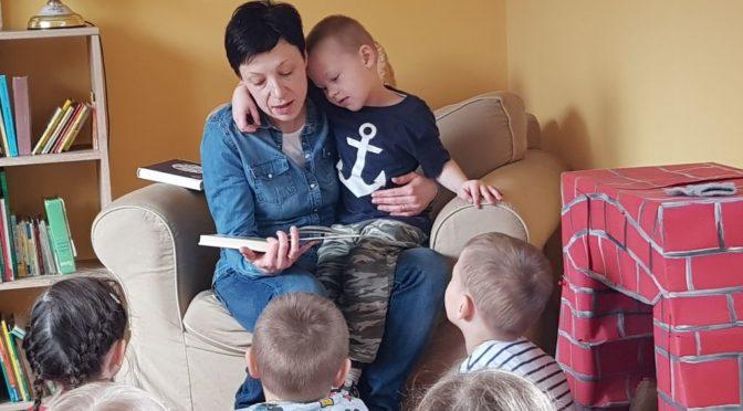 Misie czytają z Mamą